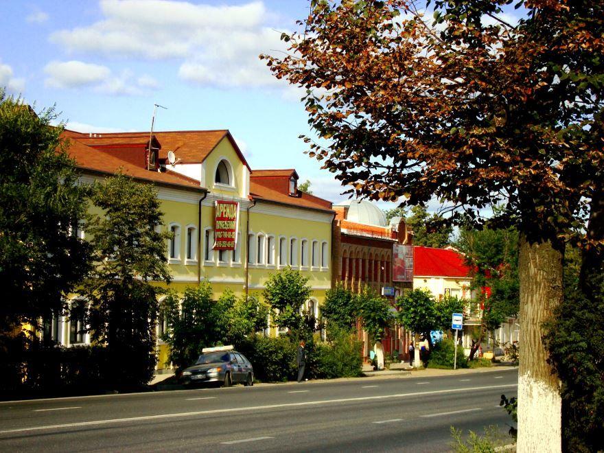 Скачать онлайн бесплатно лучшее фото улица города Покров в хорошем качестве