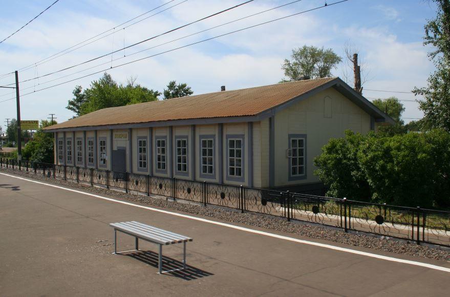 Железнодорожный вокзал город Покров 2019