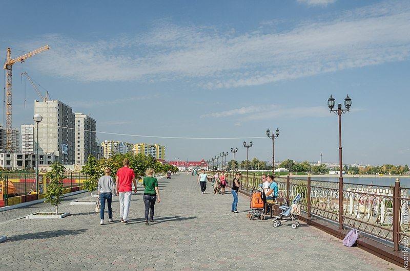 Скачать онлайн бесплатно лучшее фото набережная города Пензы в хорошем качестве