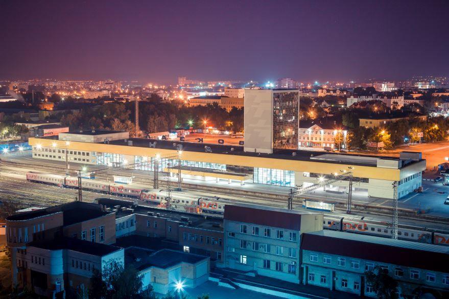Железнодорожный вокзал город Пенза 2019