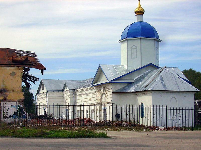 Покровская церковь город Перевоз