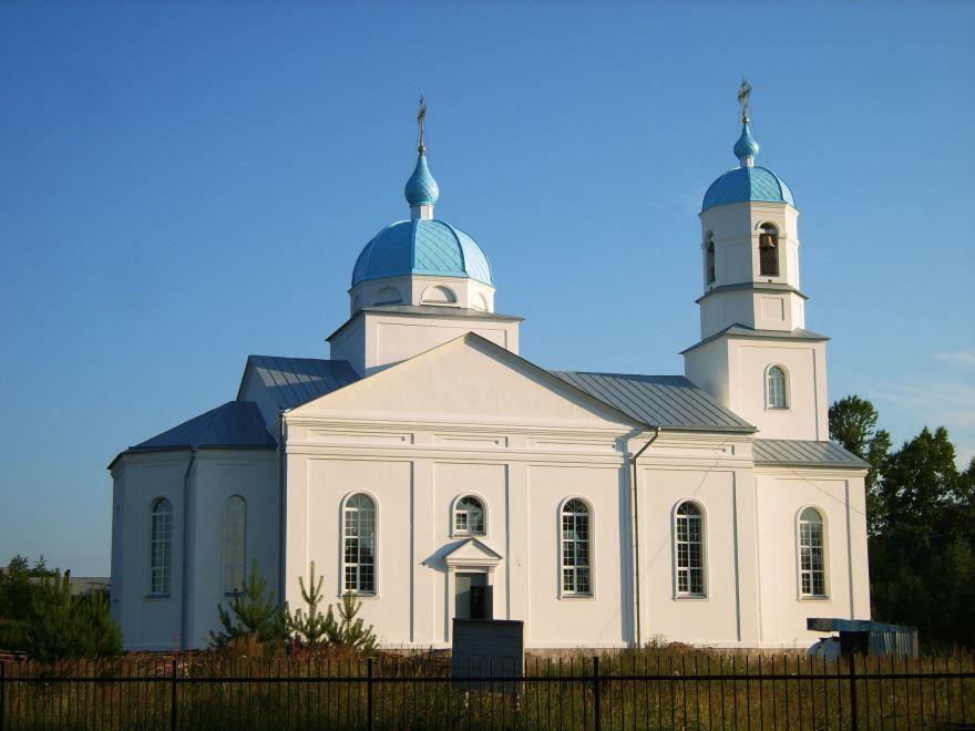 Храм Благовещения Пресвятой Богородицы город Подпорожье