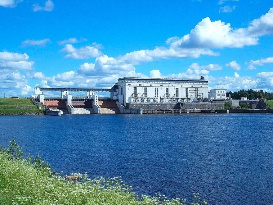 Верхнесвирская ГЭС город Подпорожье 2018