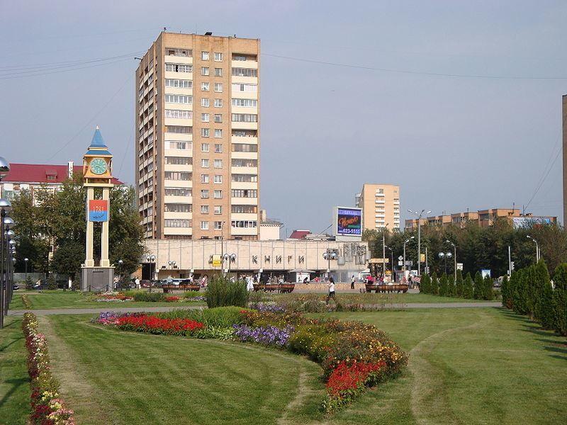 Скачать онлайн бесплатно лучшее фото с красивым видом на город Подольск в хорошем качестве
