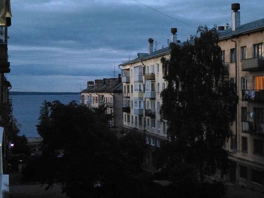 Смотреть красивое фото белые ночи в городе Петрозаводск