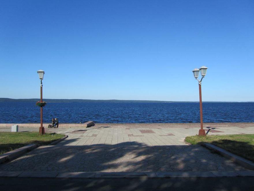 Онежское озеро город Петрозаводск