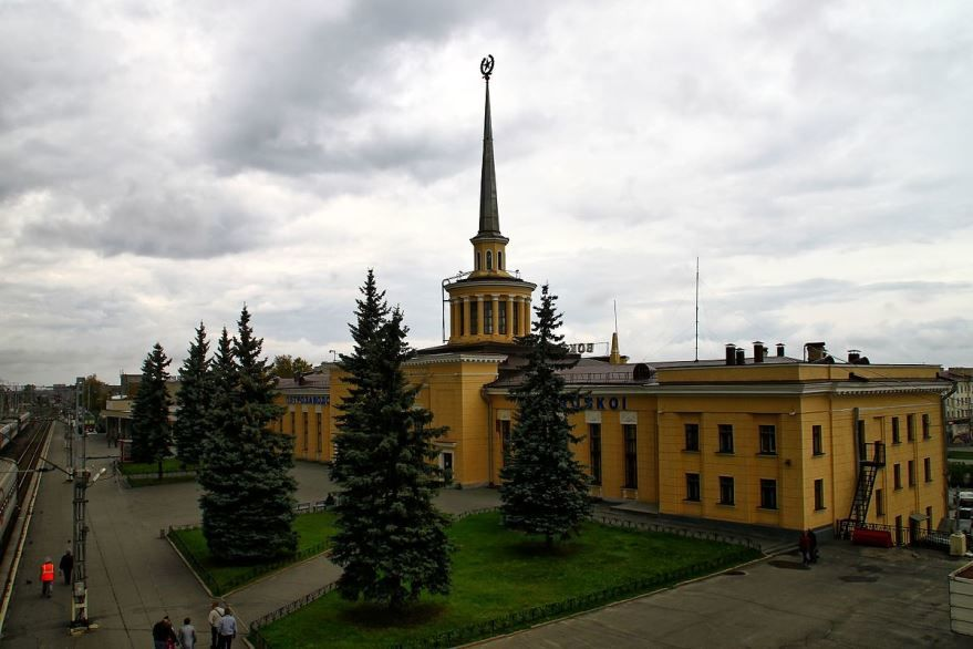 Железнодорожный вокзал город Петрозаводск 2019