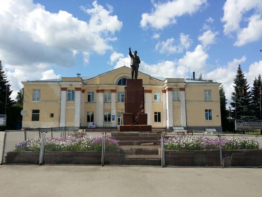 Памятник В.И. Ленину город Плавск