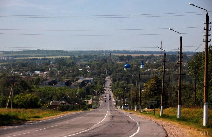 Скачать онлайн бесплатно лучшее фото вид на город Плавск в хорошем качестве