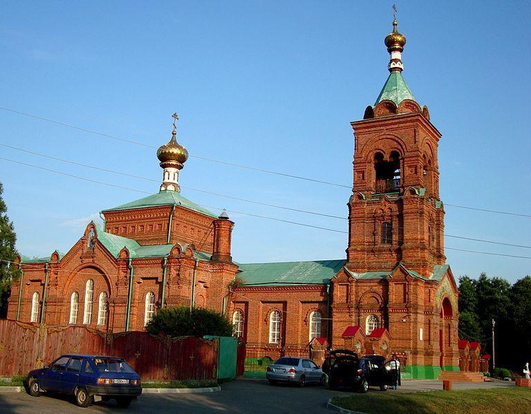 Церковь Успения Пресвятой Богородицы город Петушки