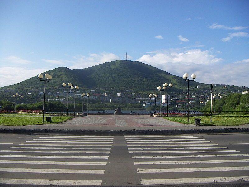 Смотреть красивое фото центр города Петропавловск Камчатский