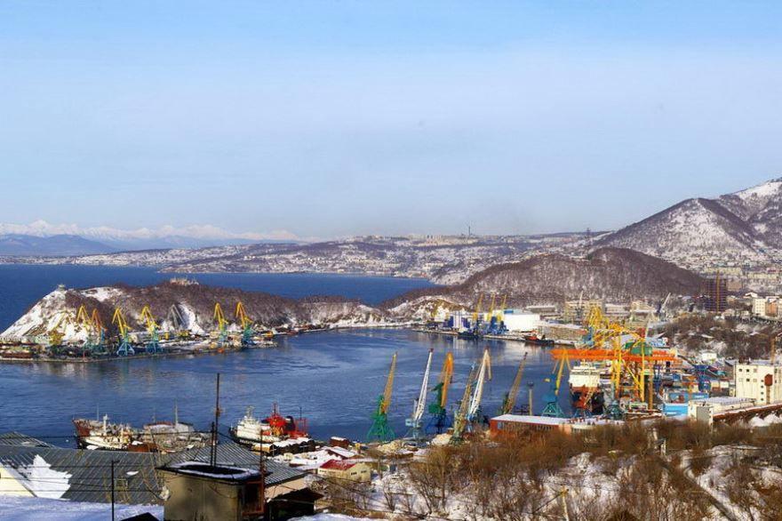 Круизный порт город Петропавловск Камчатский