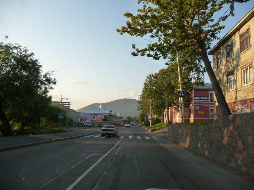 Смотреть красивое фото улица города Петропавловск Камчатский