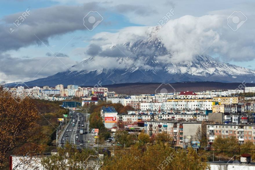 Смотреть лучшее фото вид города Петропавловск Камчатский 2019 в хорошем качестве