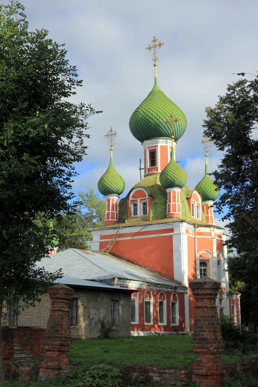 Владимирский собор город Переславль Залесский