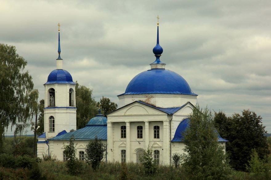 Церковь Сретения город Переславль Залесский