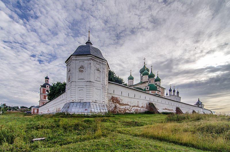 Горицкий Успенский мужской монастырь город Переславль Залесский