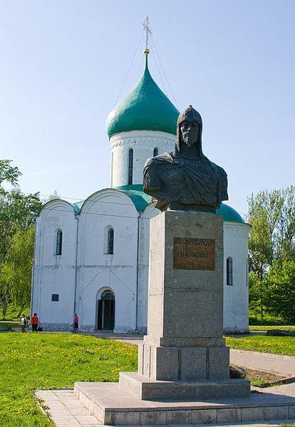 Памятник Князю Александру Невскому город Переславль Залесский 2018