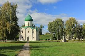 Смотреть красивое фото Спасо-Преображенский собор город Переславль Залесский в хорошем качестве