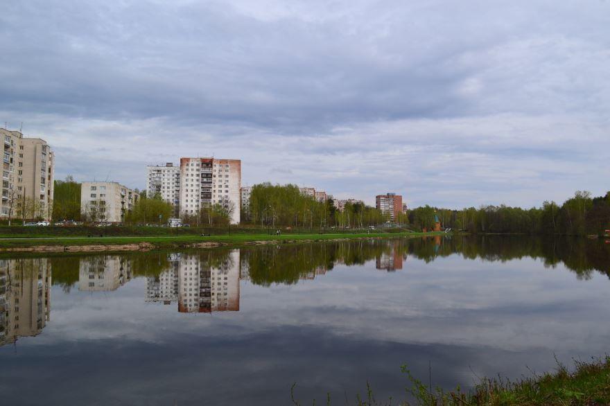 Смотреть красивое фото озеро Боровое и город Саров 2019