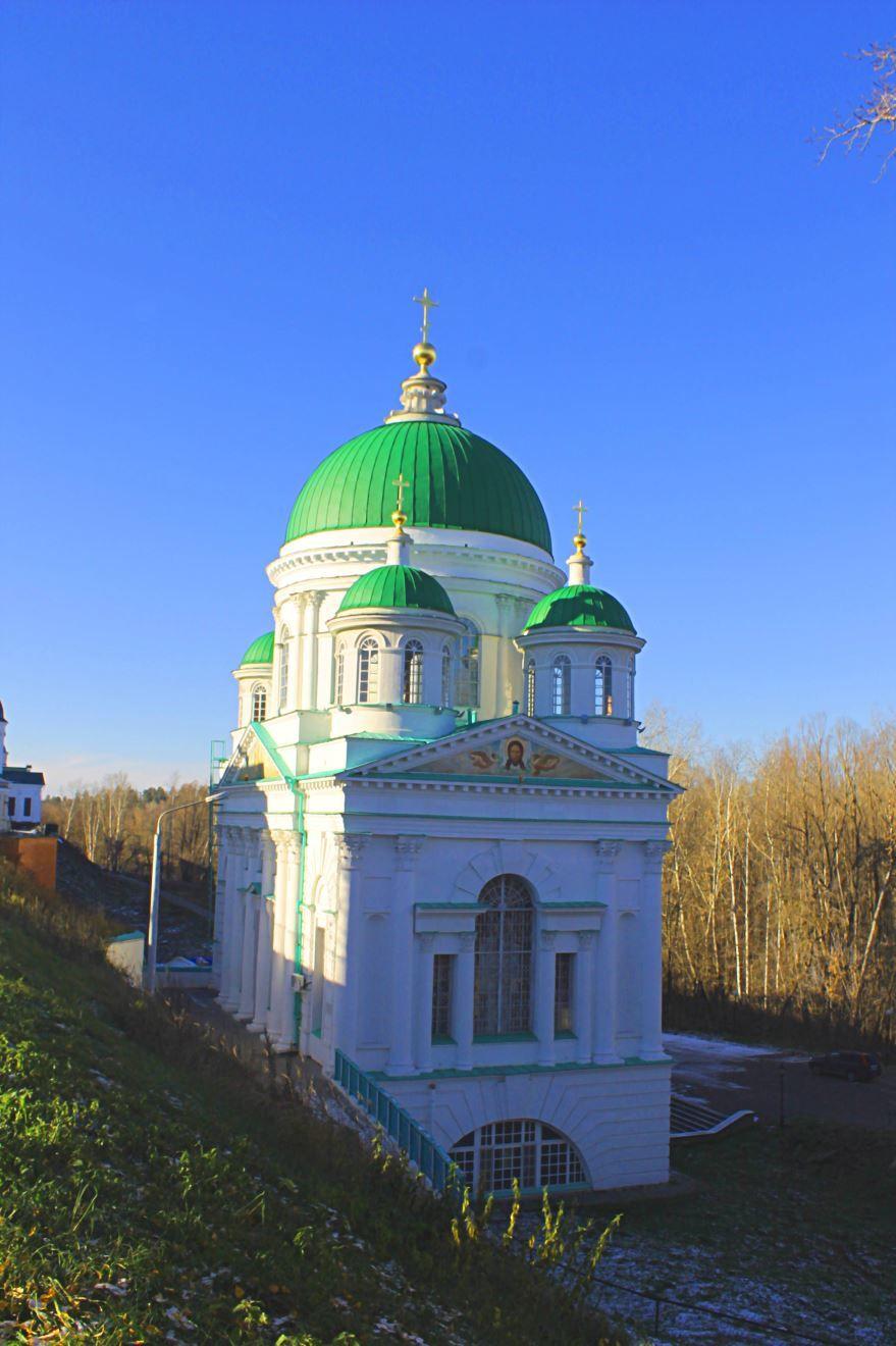 Церковь Иоанна Предтечи город Саров