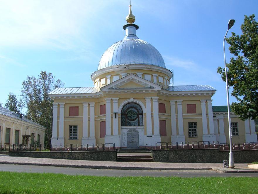 Церковь Всех Святых город Саров