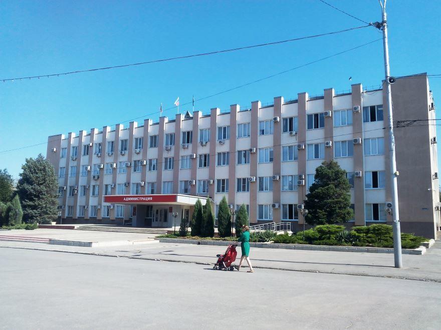 Здание администрации города Сальска
