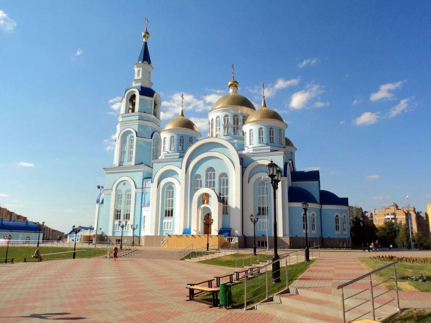 Храм Казанской Божией Матери город Саранск
