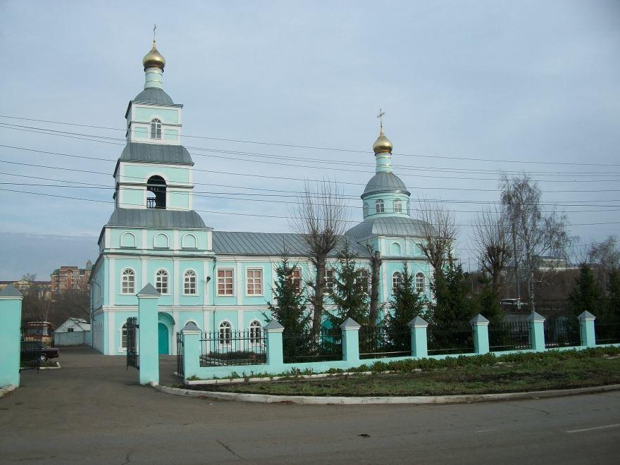 Предтеченская церковь город Саранск