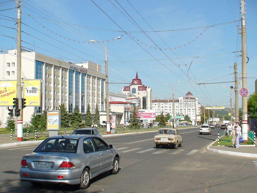 Скачать онлайн бесплатно лучшее фото улица города Саранск в хорошем качестве