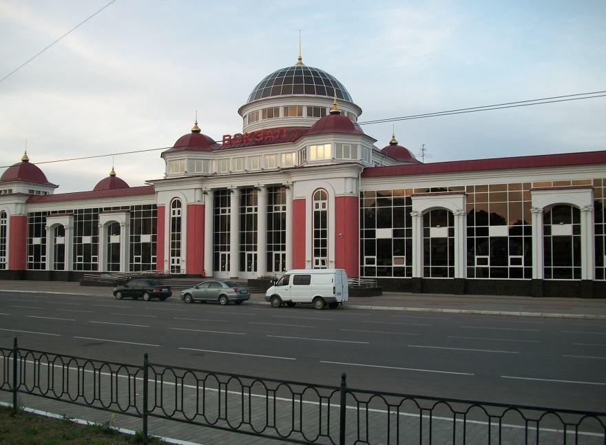 Железнодорожный вокзал город Саранск 2019