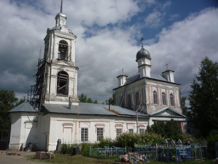 Церковь Успения Пресвятой Богородицы город Пошехонье