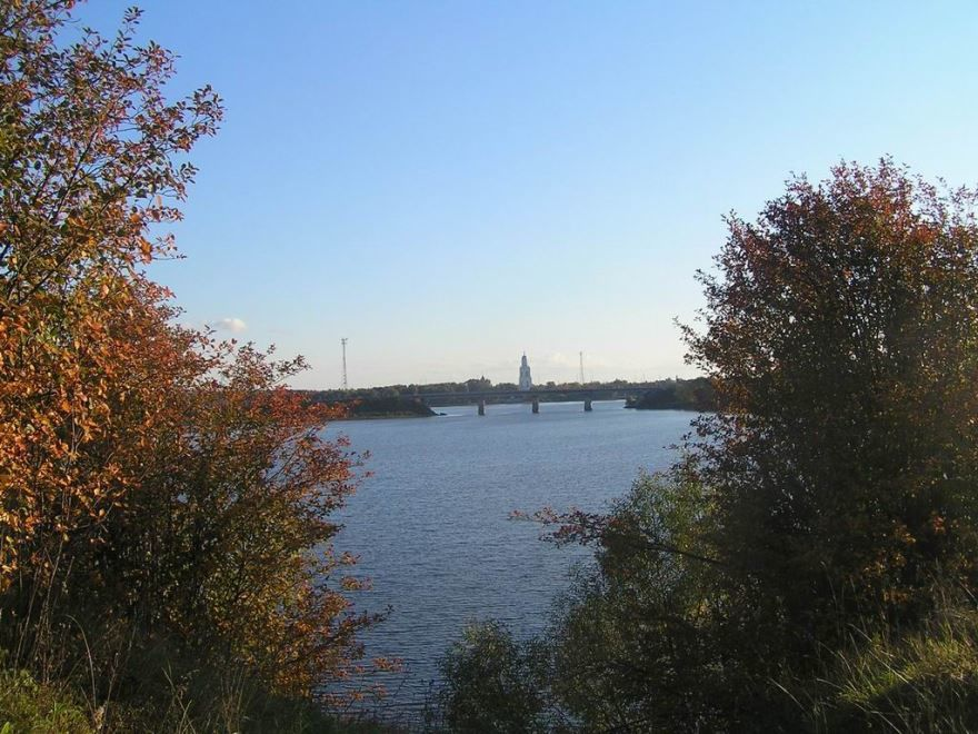 Скачать онлайн бесплатно лучшее фото панорама города Пошехонье в хорошем качестве