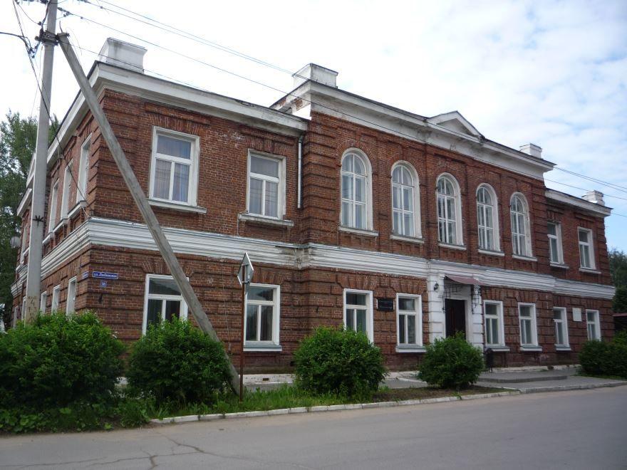 Смотреть красивое фото Земская управа город Пошехонье