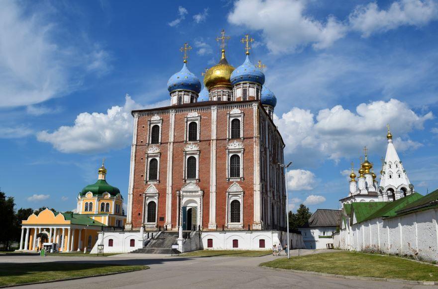 Успенский собор город Рязань