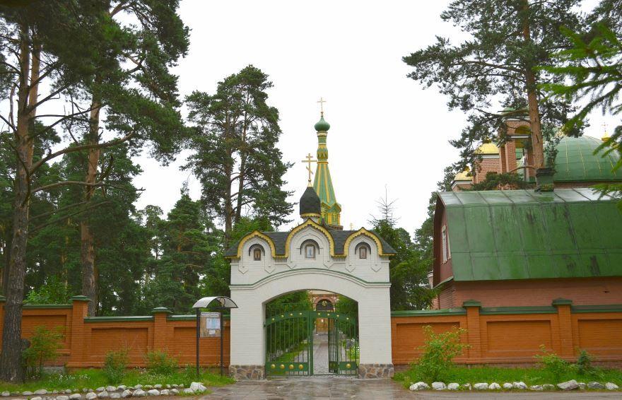 Подворье Валламского монастыря город Приозерск