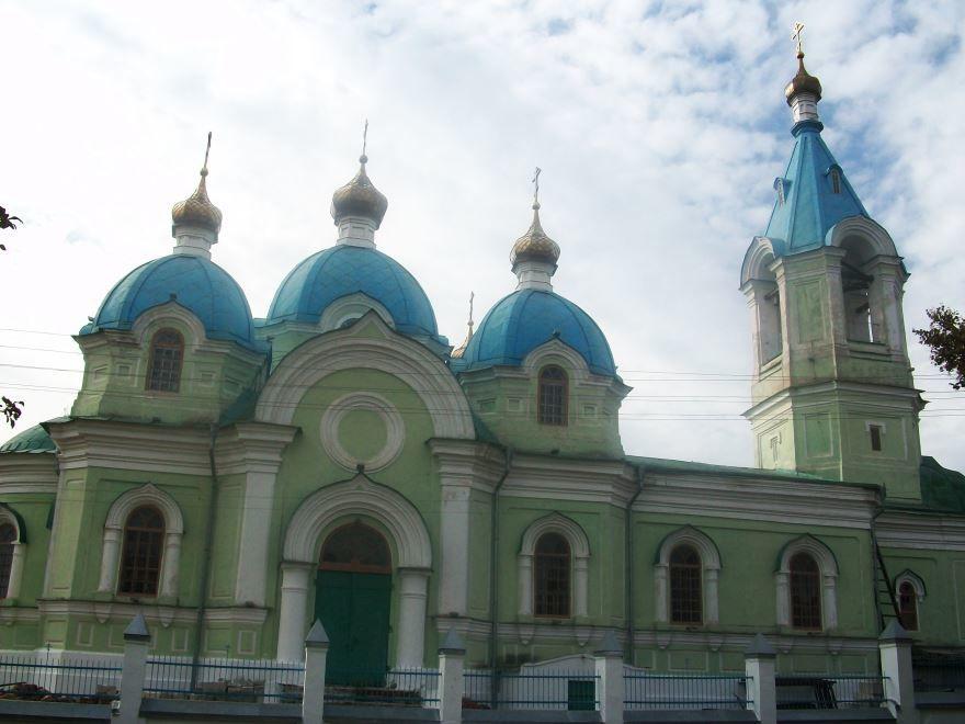 Вознесенская церковь город Рыльск
