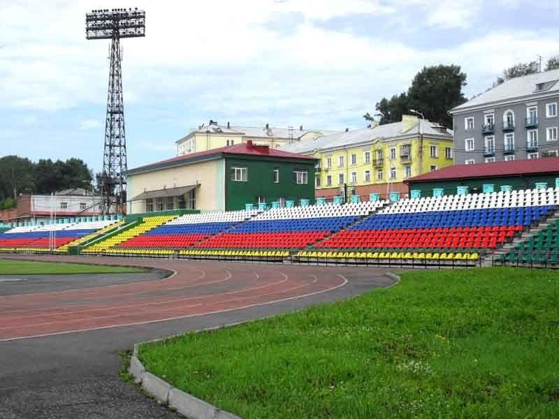 Стадион город Прокопьевск