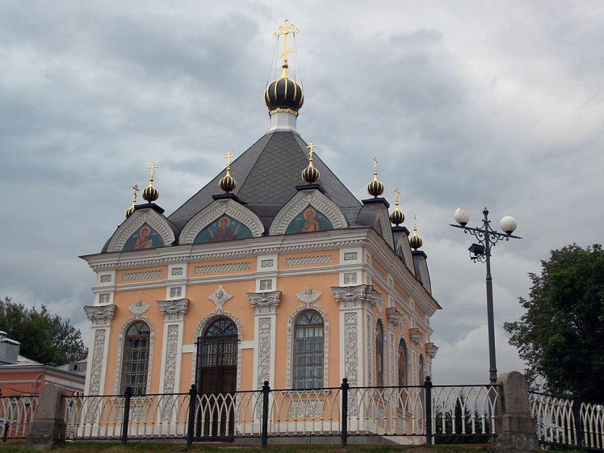 Никольская часовня город Рыбинск