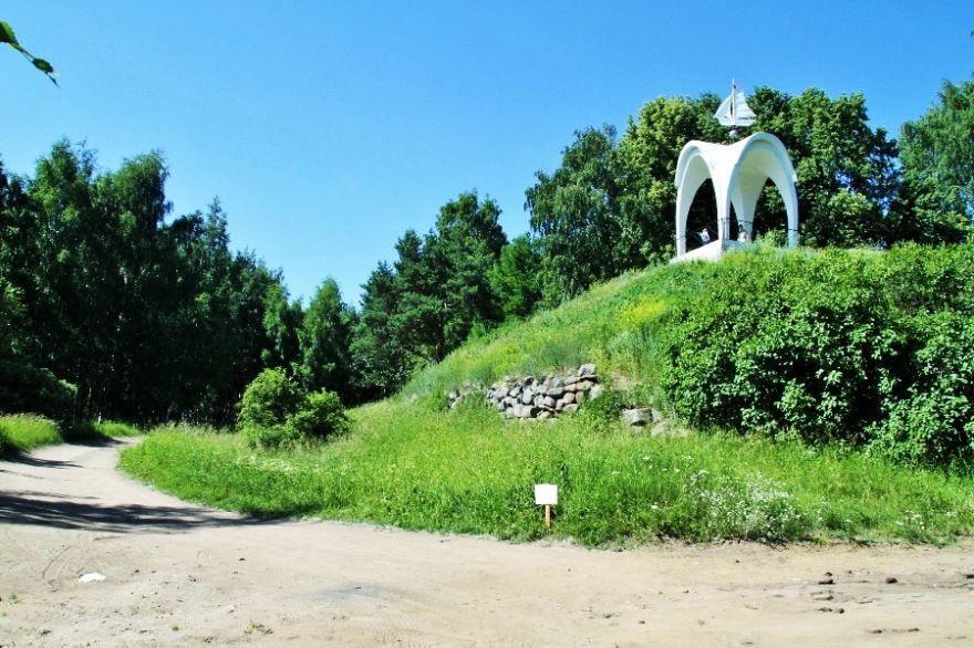 Петровский парк город Рыбинск