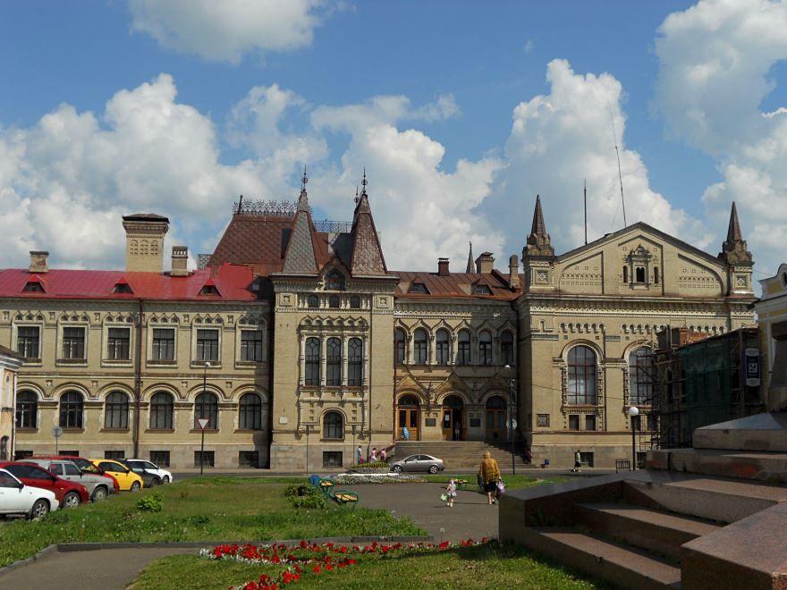 Историко-художественный и архитектурный музей город Рыбинск
