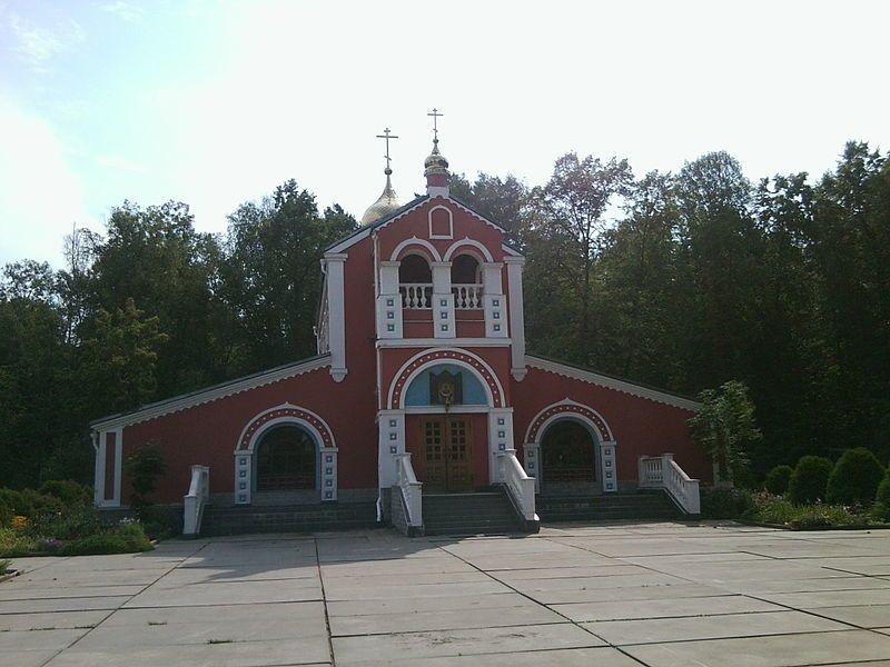 Церковь в городе Протвино