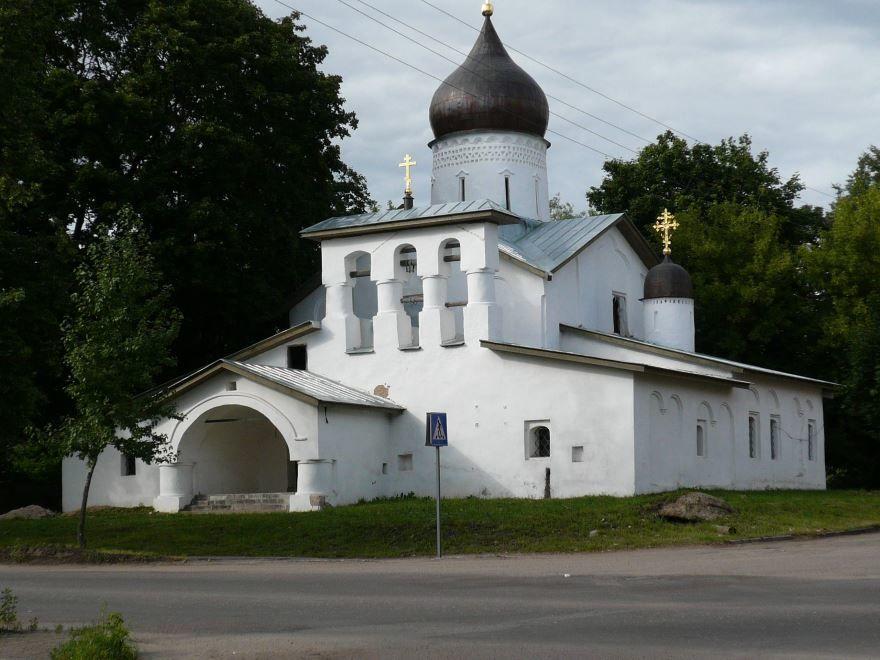 Церковь Вознесения город Псков