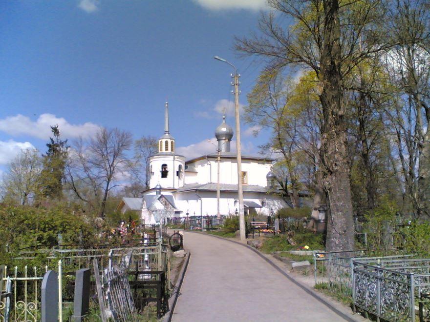 Церковь Иоанна Богослова город Псков