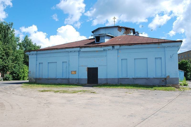 Борисоглебская церковь город Руза