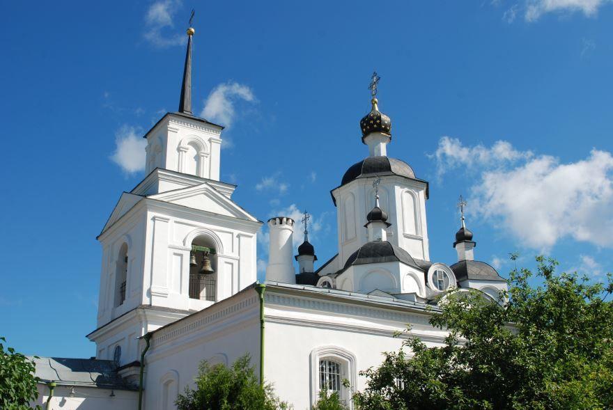 Церковь Дмитрия Солунского город Руза