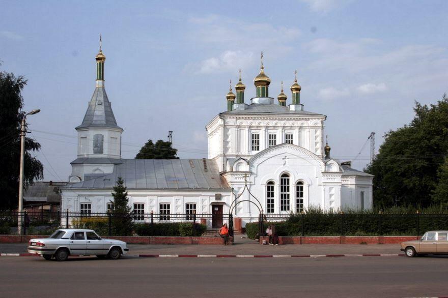 Александро-Невская церковь город Ртищево