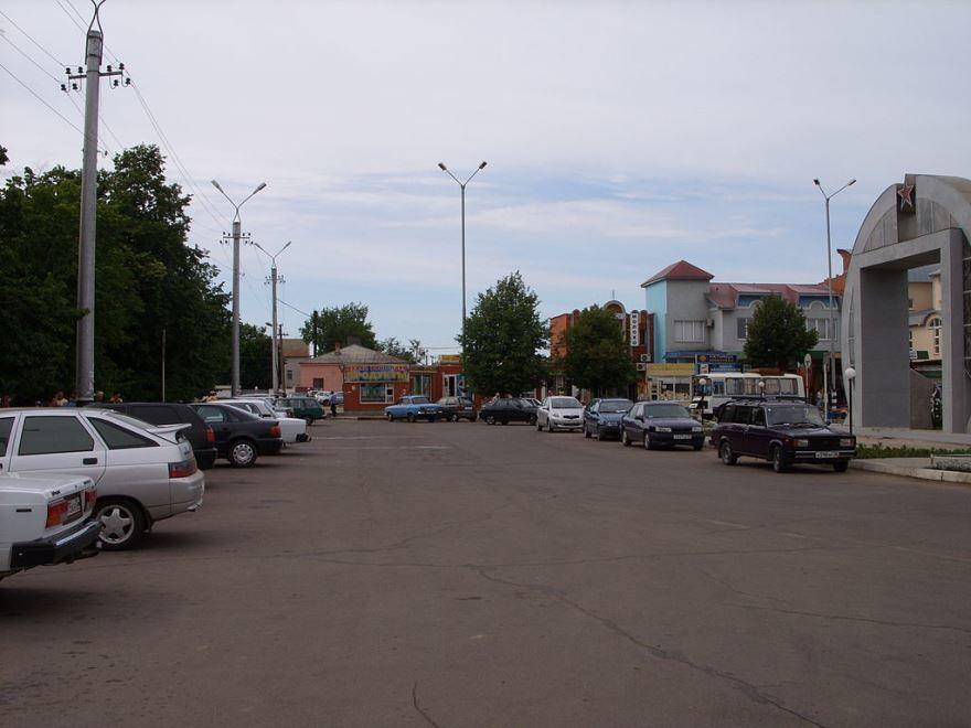 Привокзальная площадь город Россошь 2019