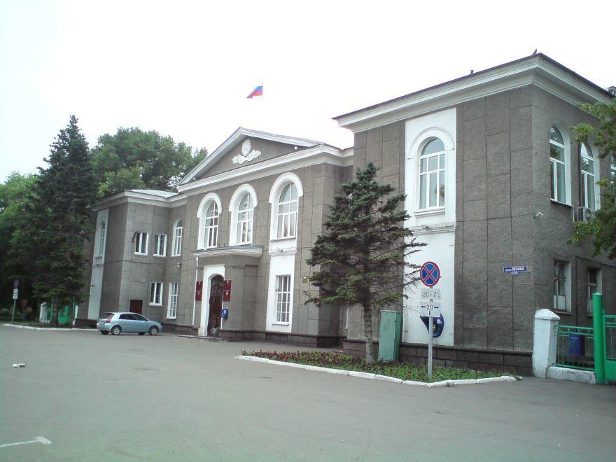 Здание администрации города Рубцовск
