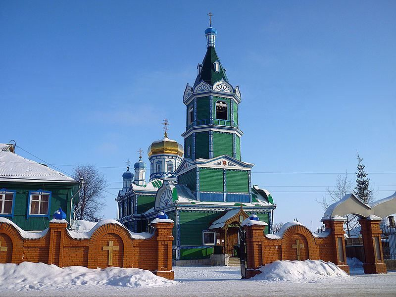 Михаило-Архангельская церковь город Рубцовск